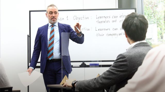 トモーニの英会話教室オープン告知画像